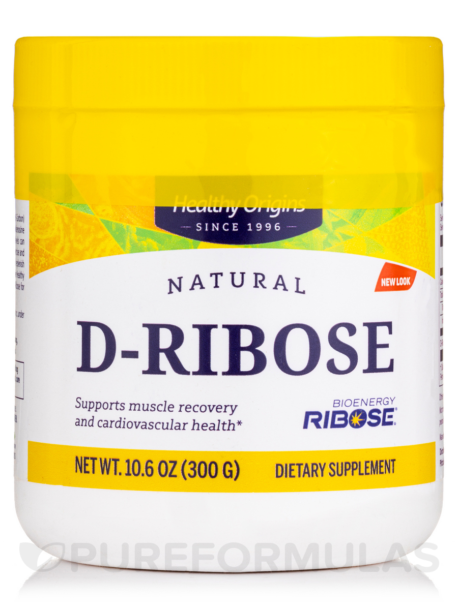 D-Ribose Powder (Bioenergy®) - 10.6 oz (300 Grams)