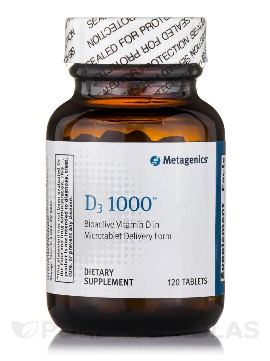 D3 1000 - 120 Tablets