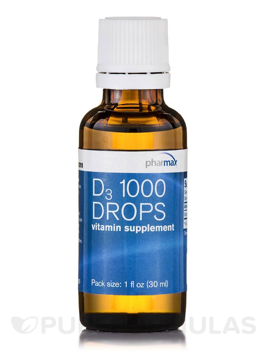 D3 1000 Drops - 1 fl. oz (30 ml)
