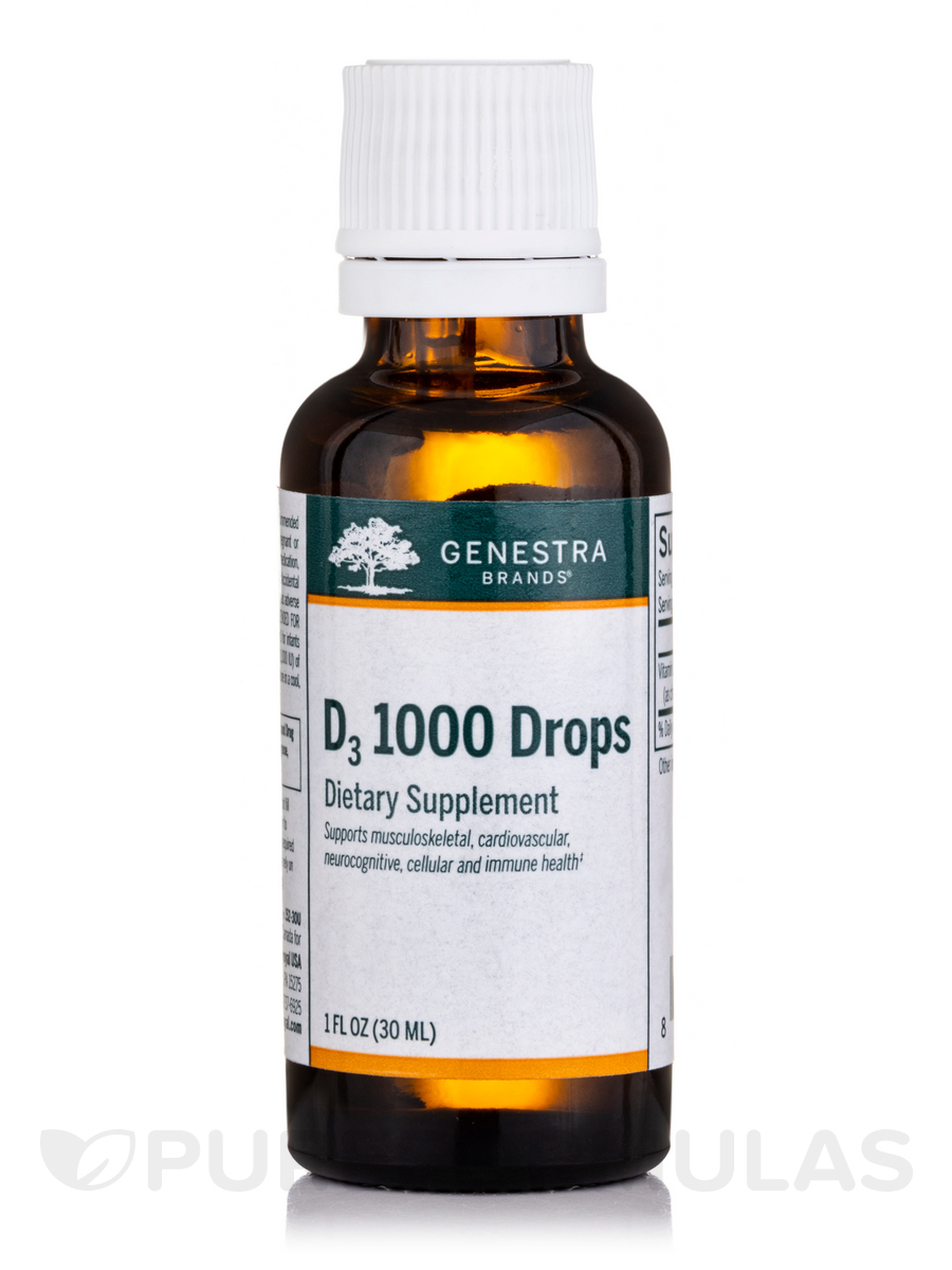 D3 1000 Drops - 1 fl. oz (30 ml)