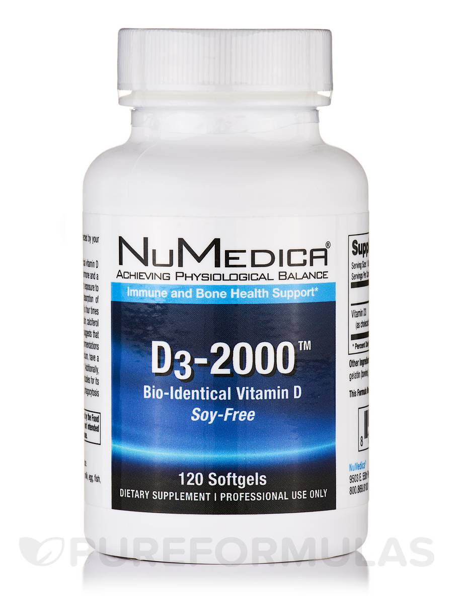 D3-2000™ - 120 Softgels