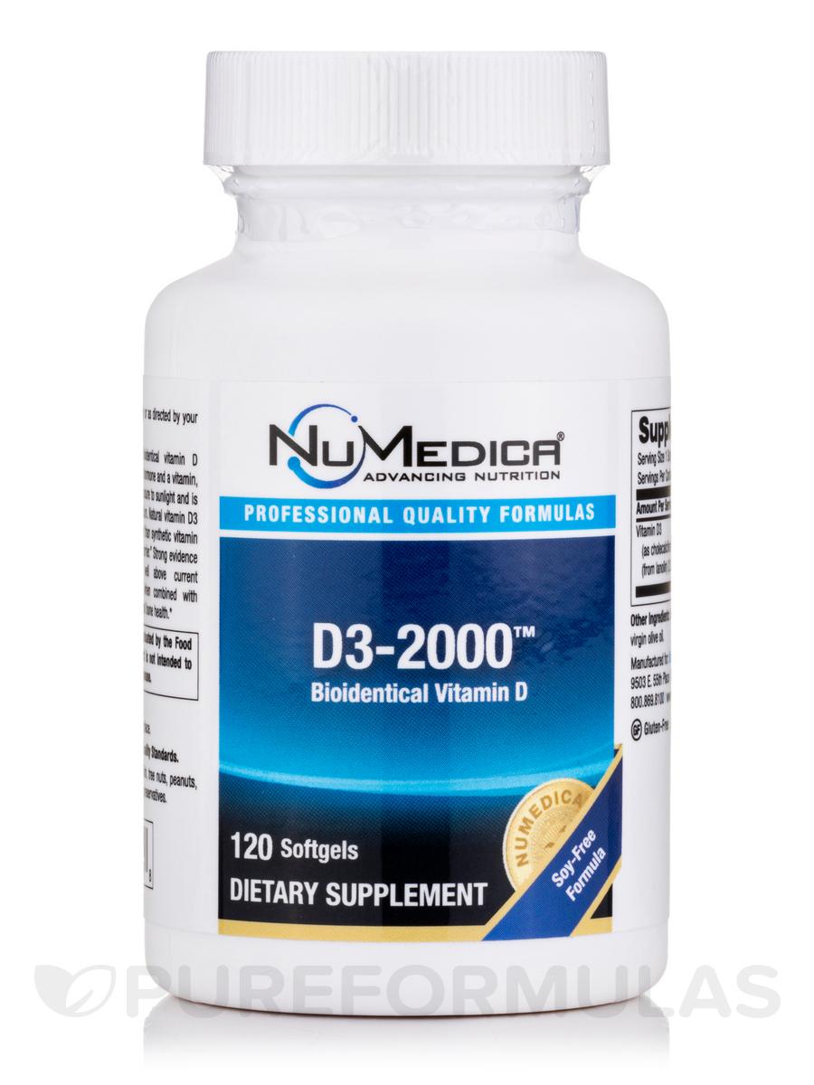 D3-2000 - 120 Softgels