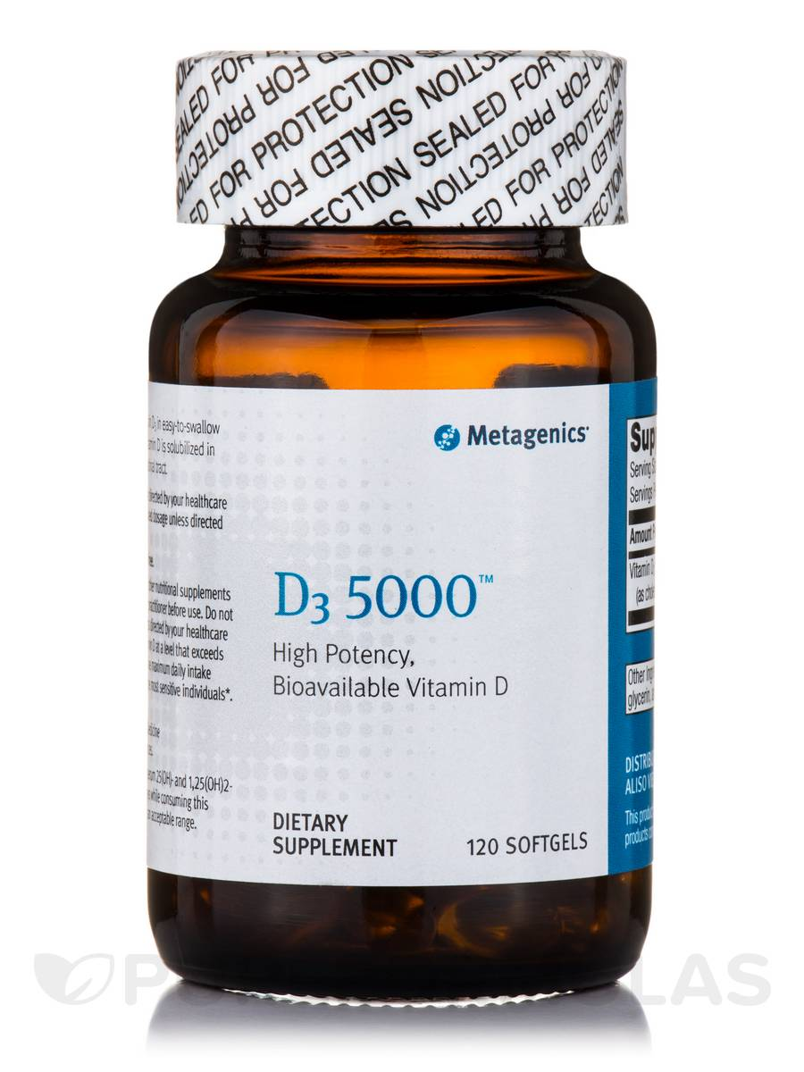 D3 5000™ - 120 Softgels