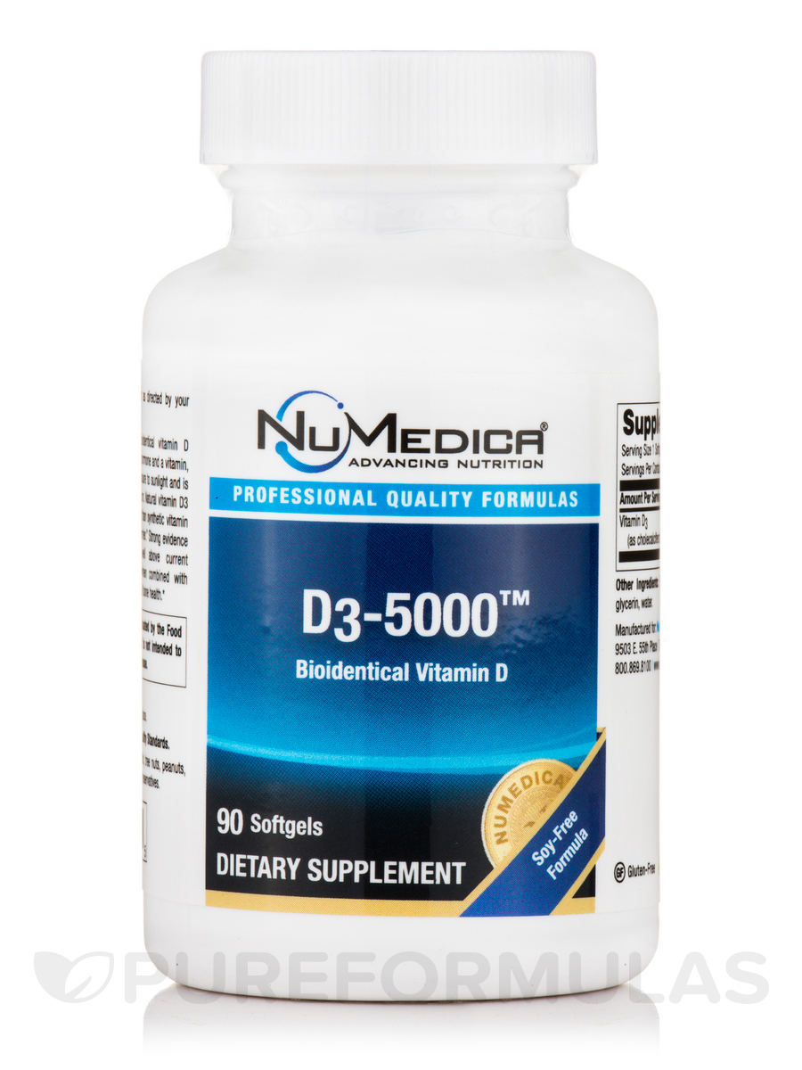 D3-5000 - 90 Softgels