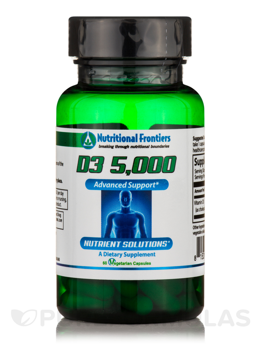 D3 5000 IU - 60 Vegetarian Capsules