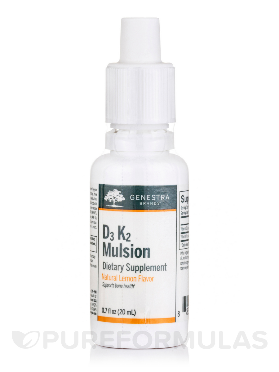D3 K2 Mulsion - 0.7 fl. oz (20 ml)