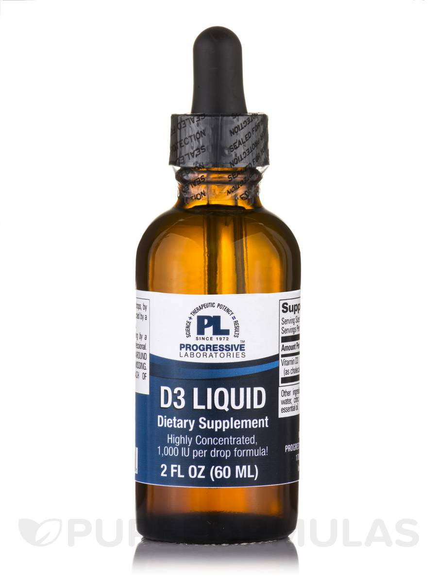 Vitamin D3 - 2 fl. oz (60 ml)