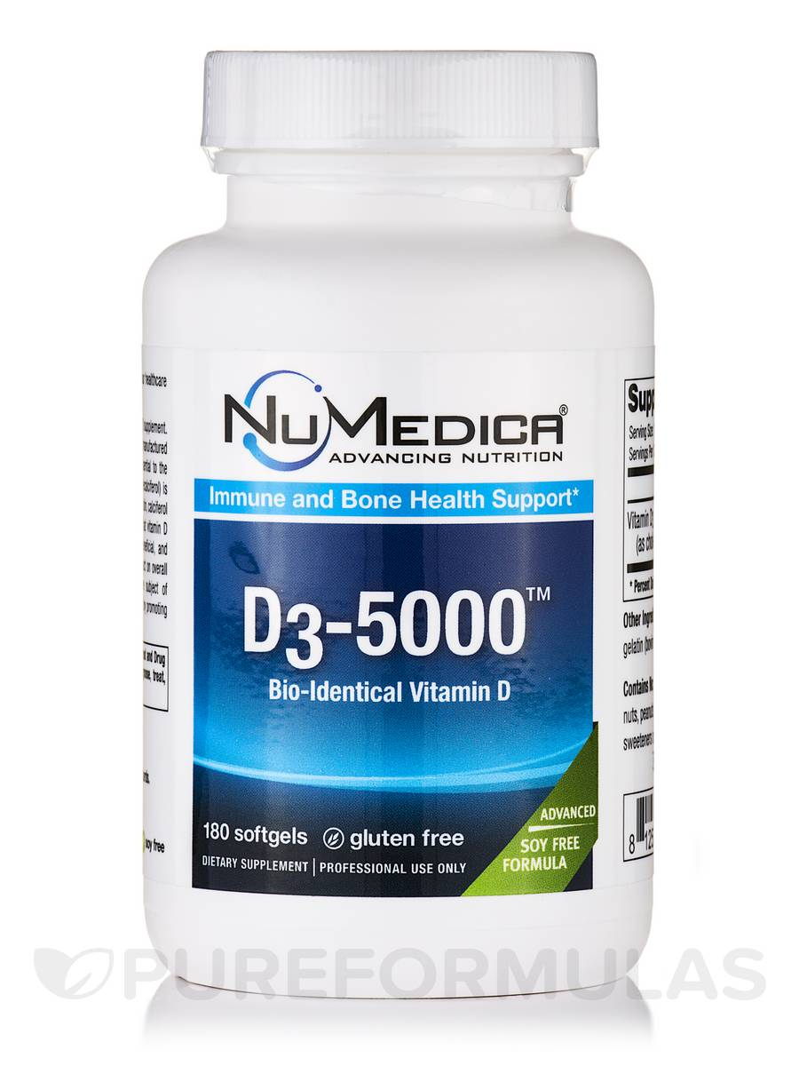 D3-5000 - 180 Softgels