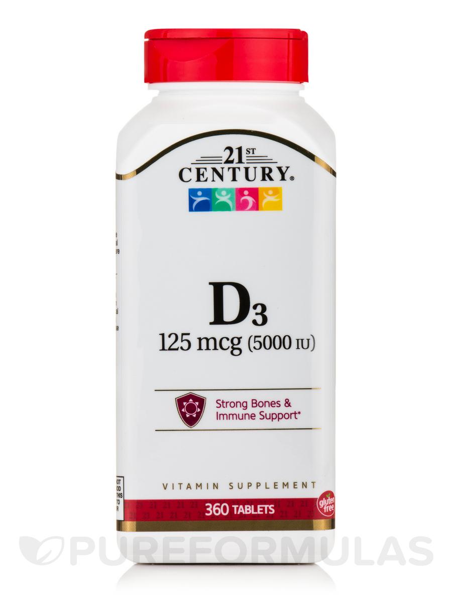 D3-5000 IU - 360 Tablets