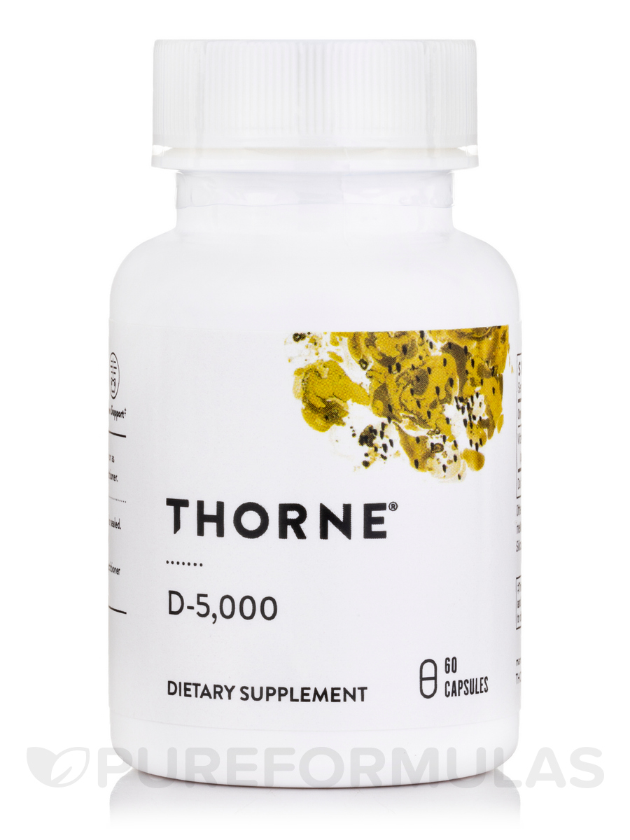 D-5,000 (NSF Certified for Sport) - 60 Capsules