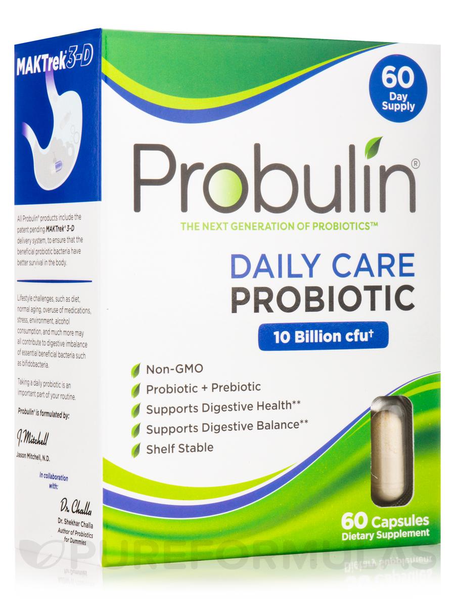 Daily Care Probiotic 10 Billion CFU - 60 Capsules