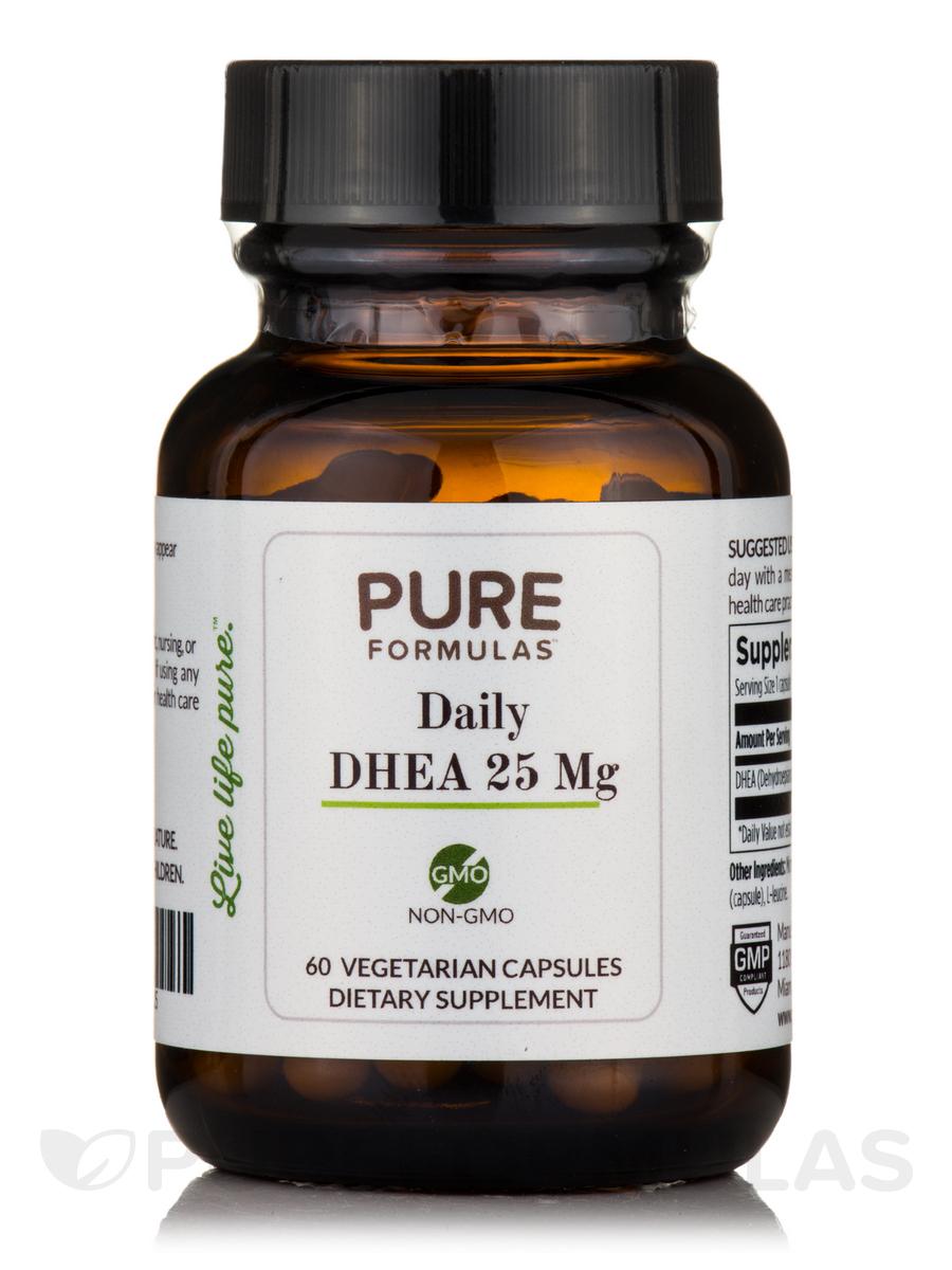 Daily DHEA 25 mg - 60 Vegetarian Capsules