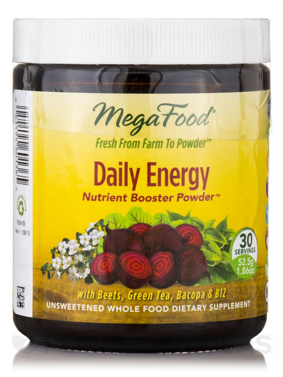 Daily Energy Nutrient Booster Powder™ - 30 Servings (1.86 oz / 52.5 Grams)