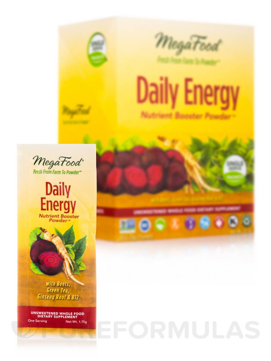 Daily Energy Nutrient Booster Powder™ - 30 Packets (1.75 Grams each)