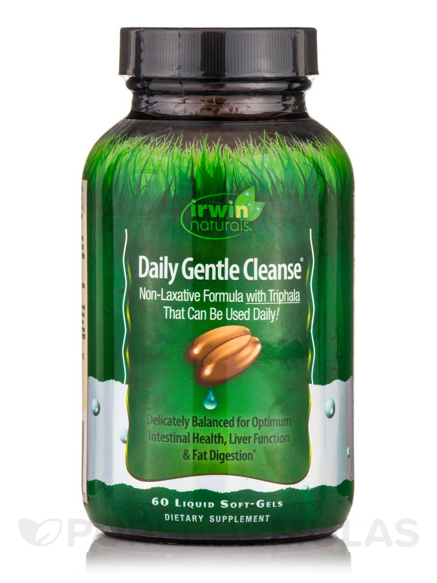 Daily Gentle Cleanse - 60 Liquid Soft-Gels