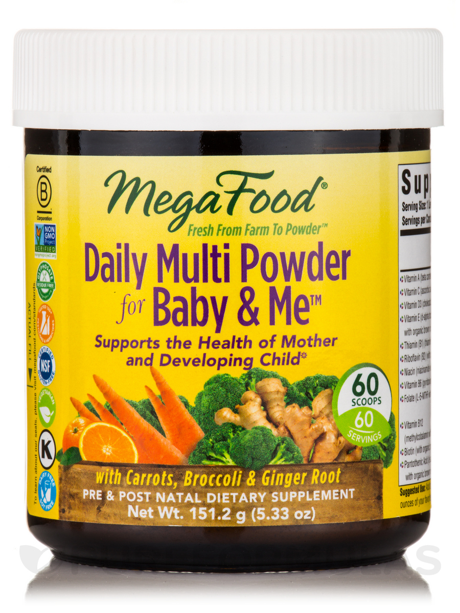 Daily Multi Powder for Baby & Me™ - 5.33 oz (151.2 Grams)