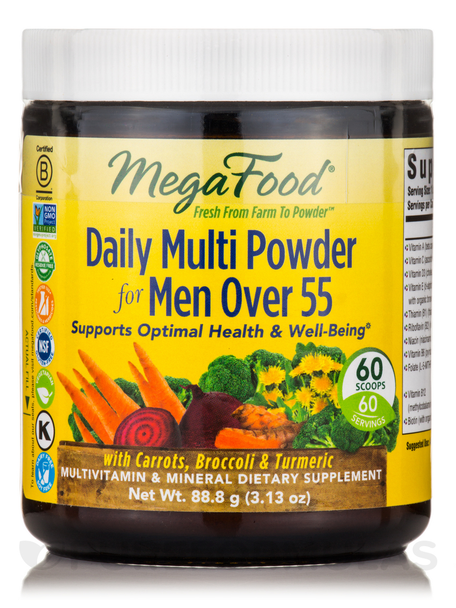 Daily Multi Powder for Men Over 55 - 3.13 oz (88.8 Grams)
