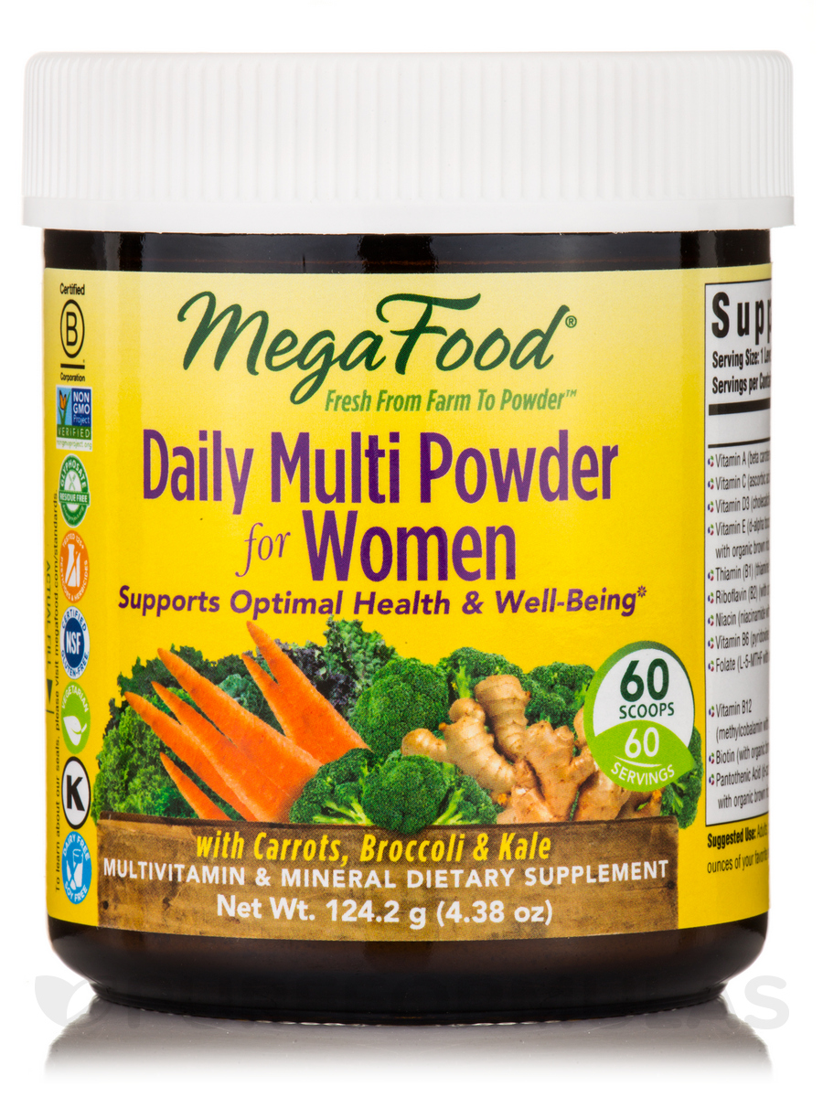 Daily Multi Powder for Women - 4.38 oz (124.2 Grams)