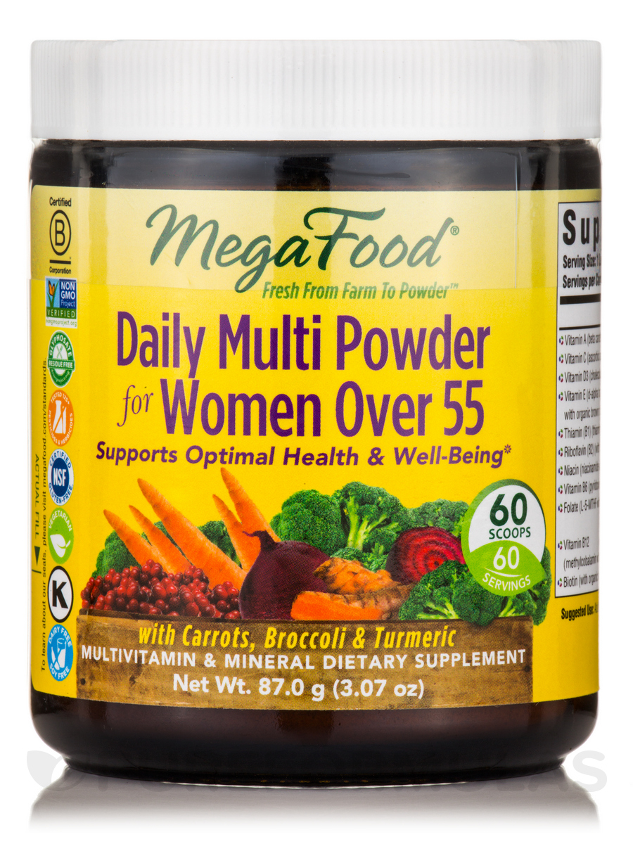 Daily Multi Powder for Women Over 55 - 3.07 oz (87 Grams)