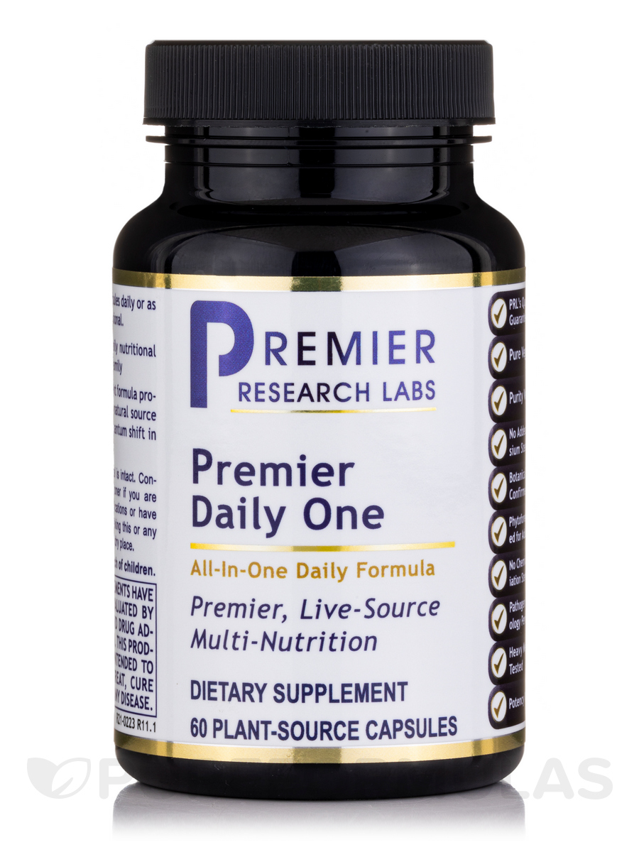 Premier Daily One - 60 Vegetable Capsules