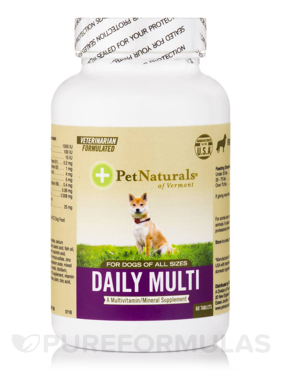 Daily Multi Tab for Dogs - 60 Tablets