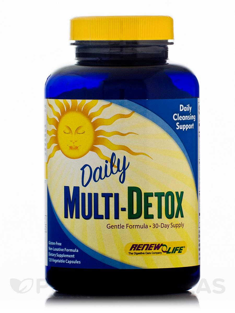 Daily Multi-Detox - 120 Vegetable Capsules