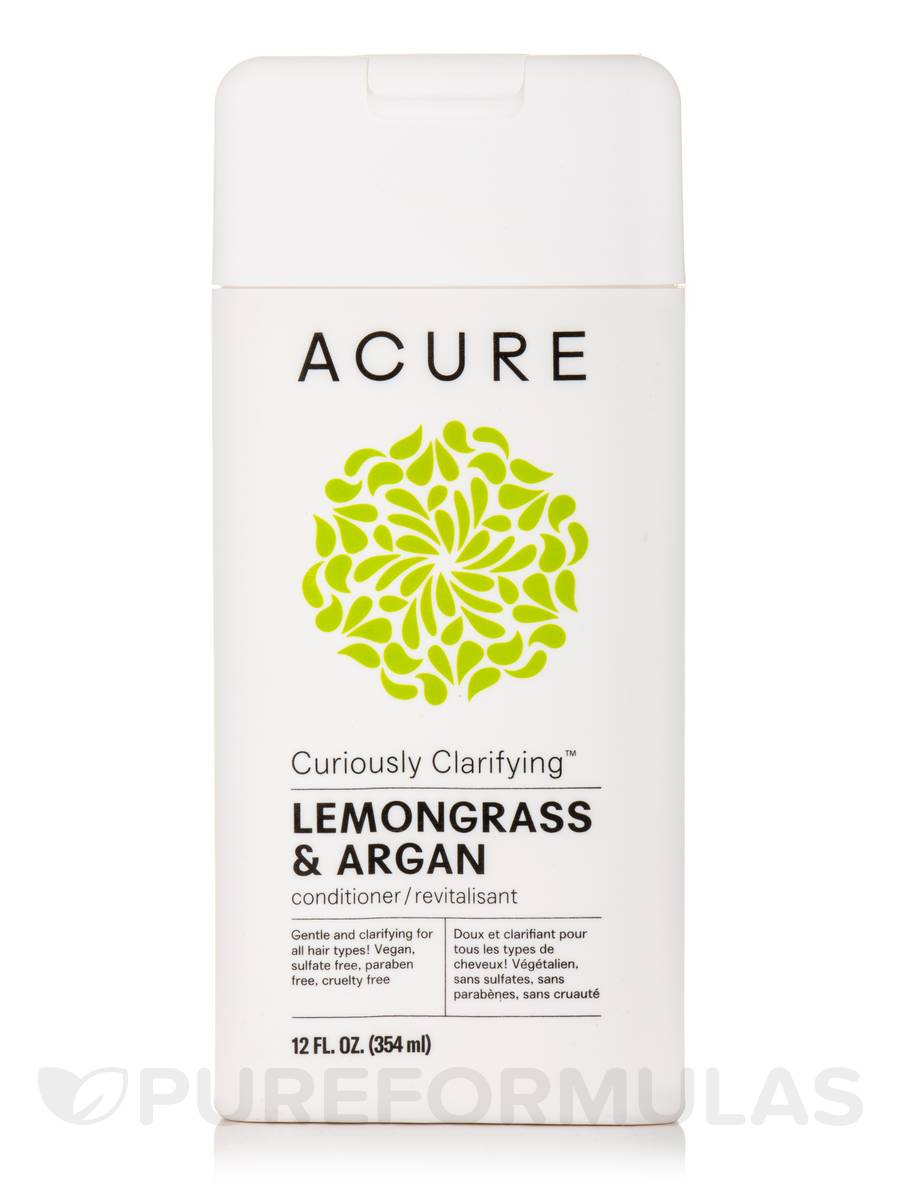 Curiously Clarifying Conditioner, Lemongrass + Argan - 12 fl. oz (354 ml)