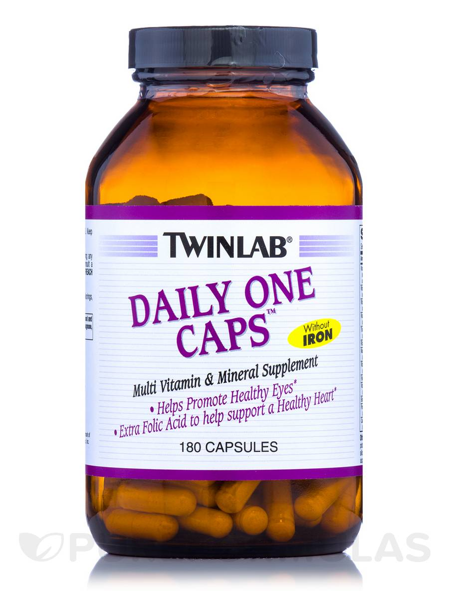 Daily One Caps® (No Iron) - 180 Capsules