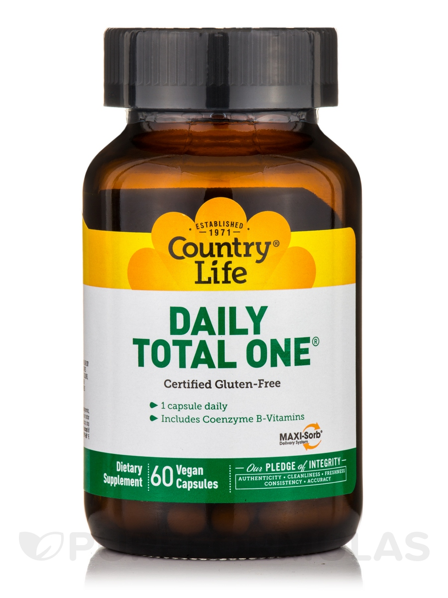 Daily Total One with Iron - 60 Vegetarian Capsules