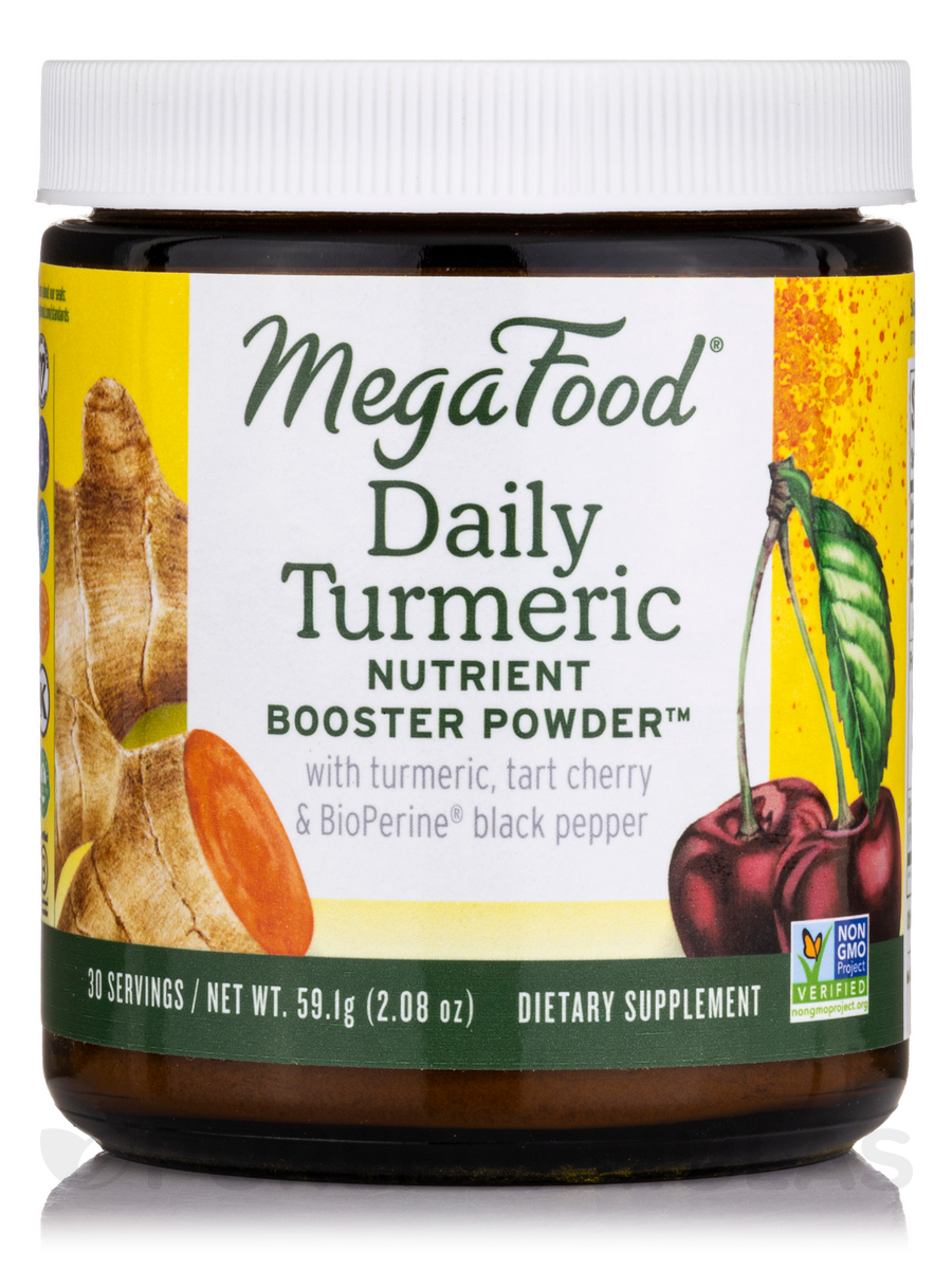 Daily Turmeric Nutrient Booster Powder™ - 30 Servings (2.08 oz / 59.1 Grams)
