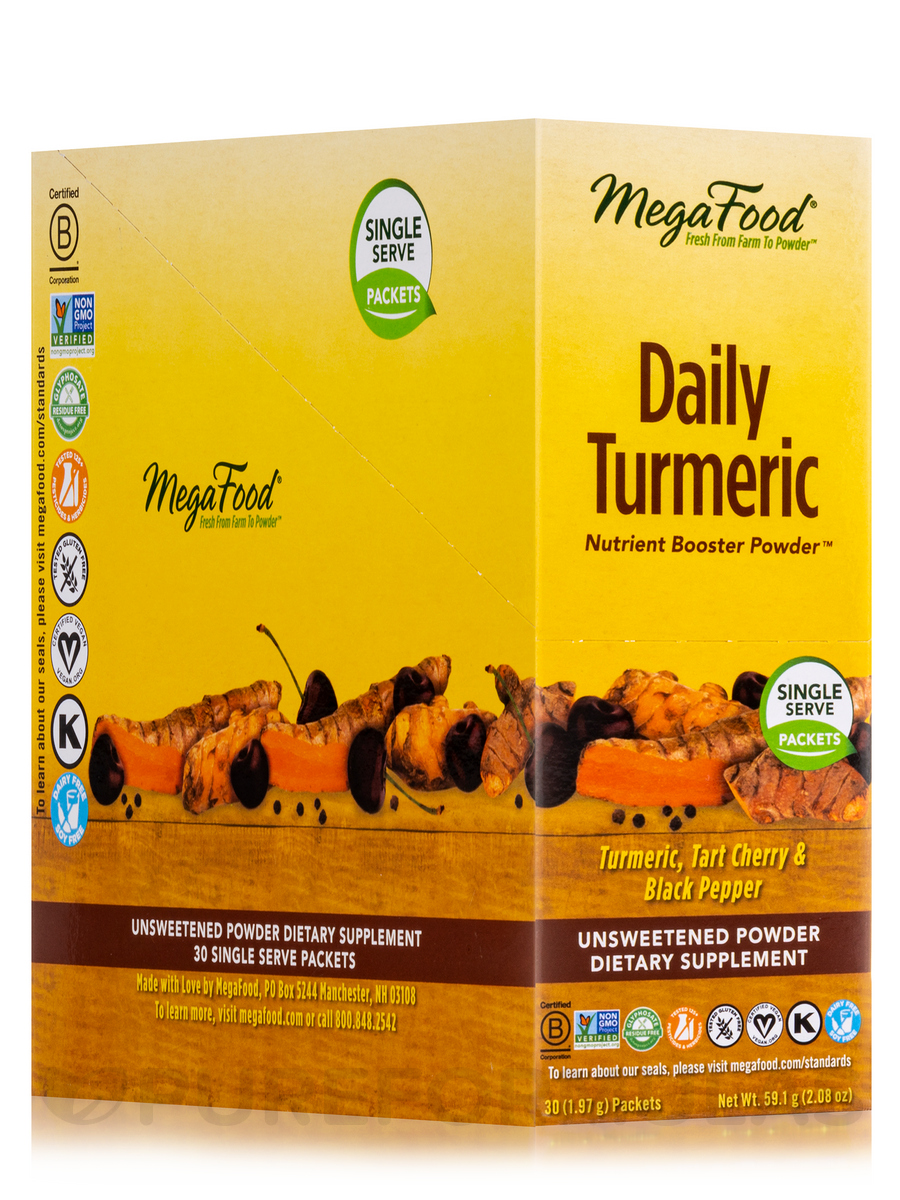 Daily Turmeric Nutrient Booster Powder™ - 30 Packets (1.97 Grams each)