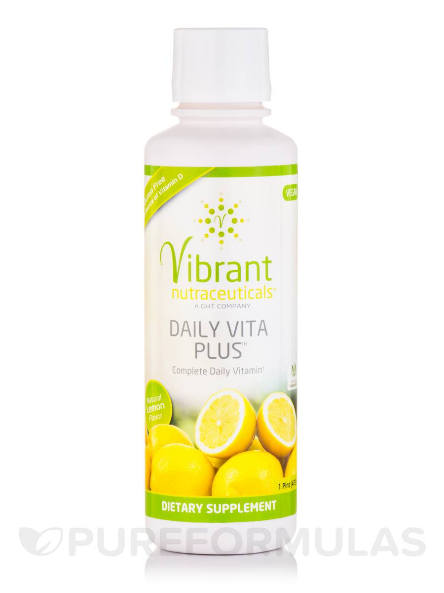 Daily Vita Plus™ Natural Lemon Flavor - 1 Pint (473 ml)