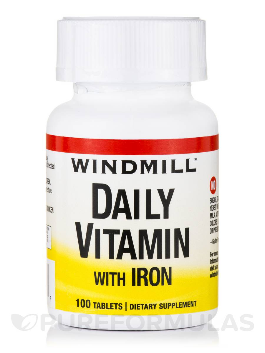 Daily-Vitamin with Iron - 100 Tablets