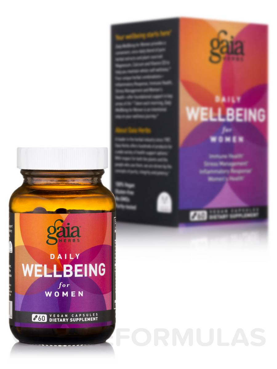 Daily Wellbeing for Women - 60 Vegan Capsules