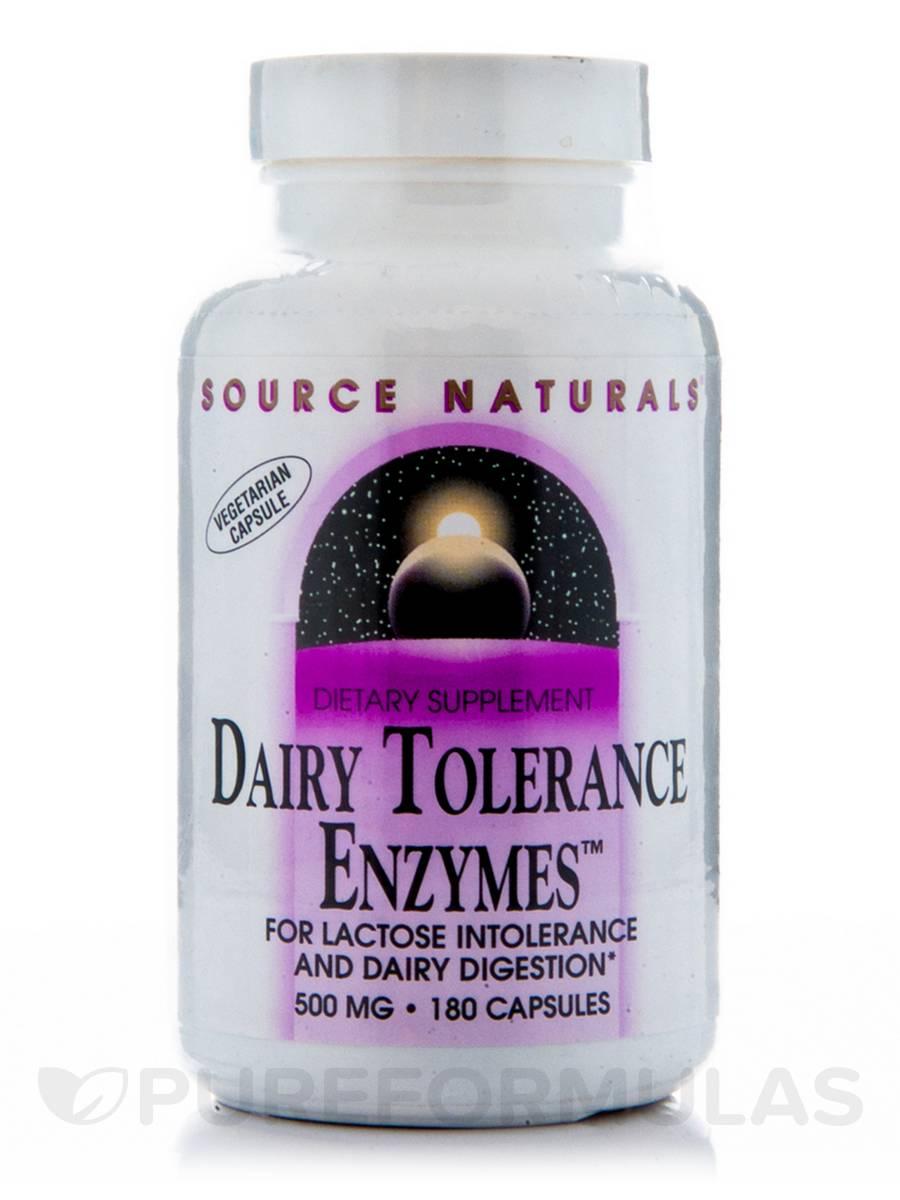 Dairy Tolerance Enzyme - 180 Vegetarian Capsules