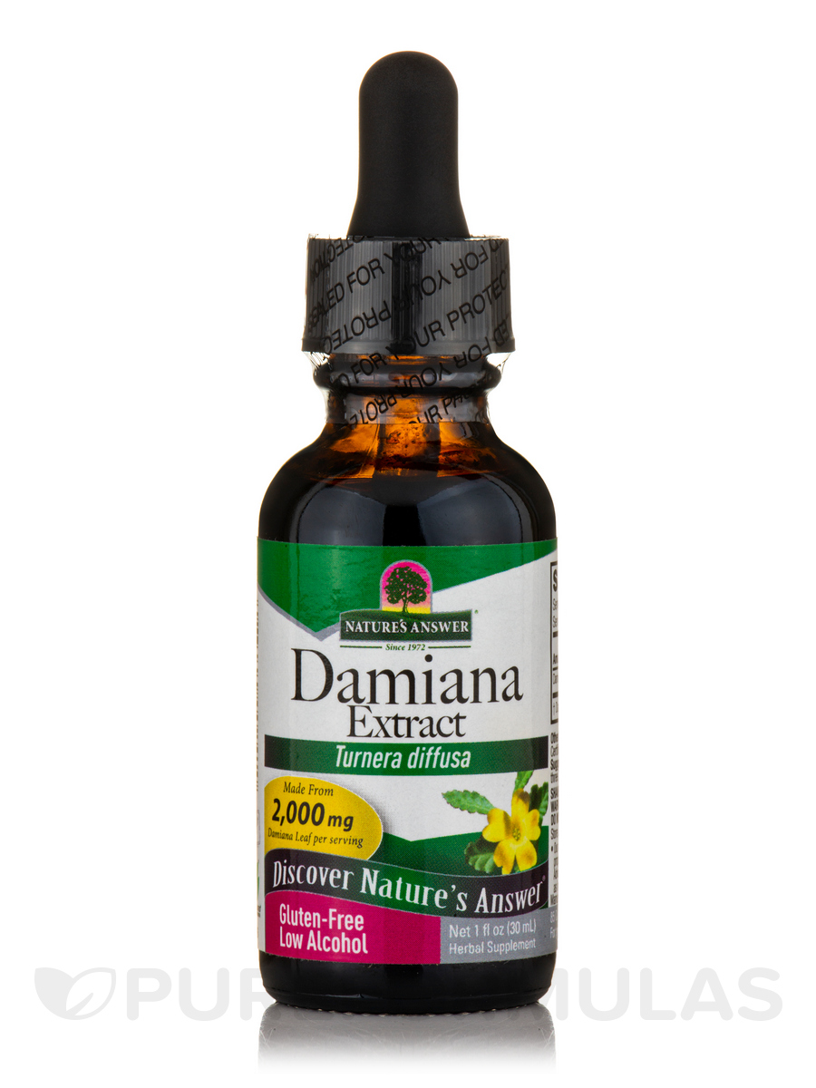 Damiana Leaf Extract - 1 fl. oz (30 ml)
