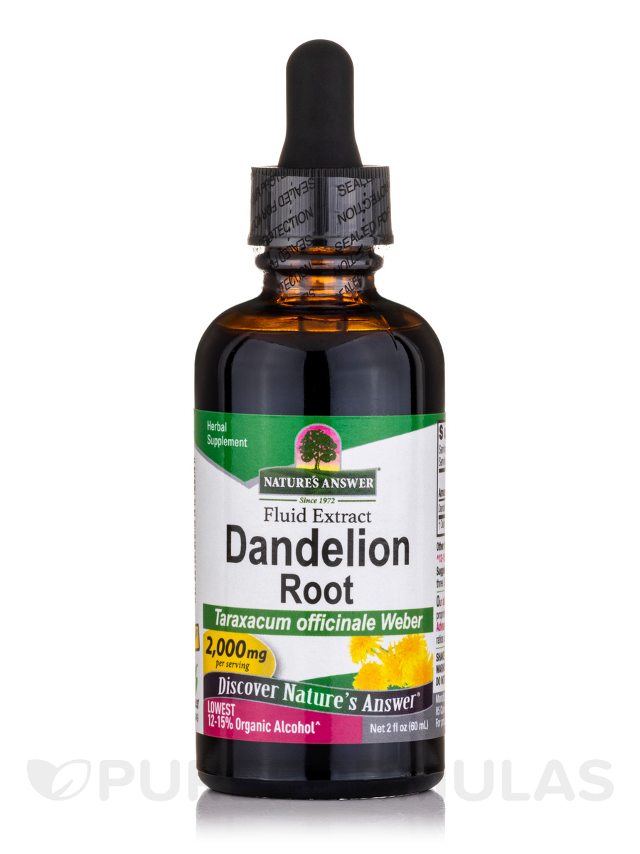 Dandelion Root Extract - 2 fl. oz (60 ml)