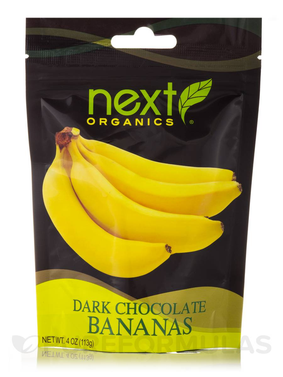 Dark Chocolate Bananas - 4 oz (113 Grams)