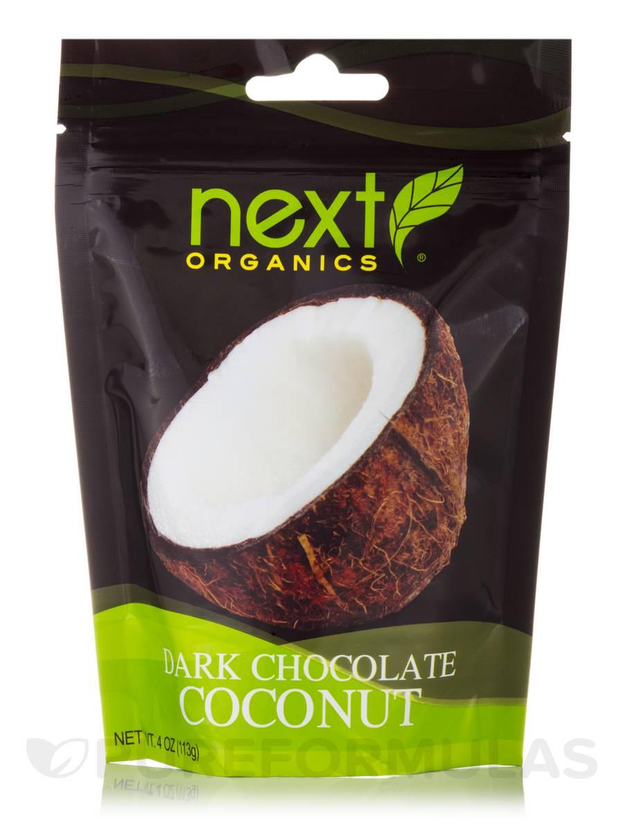 Dark Chocolate Coconut Smiles - 4 oz (113 Grams)