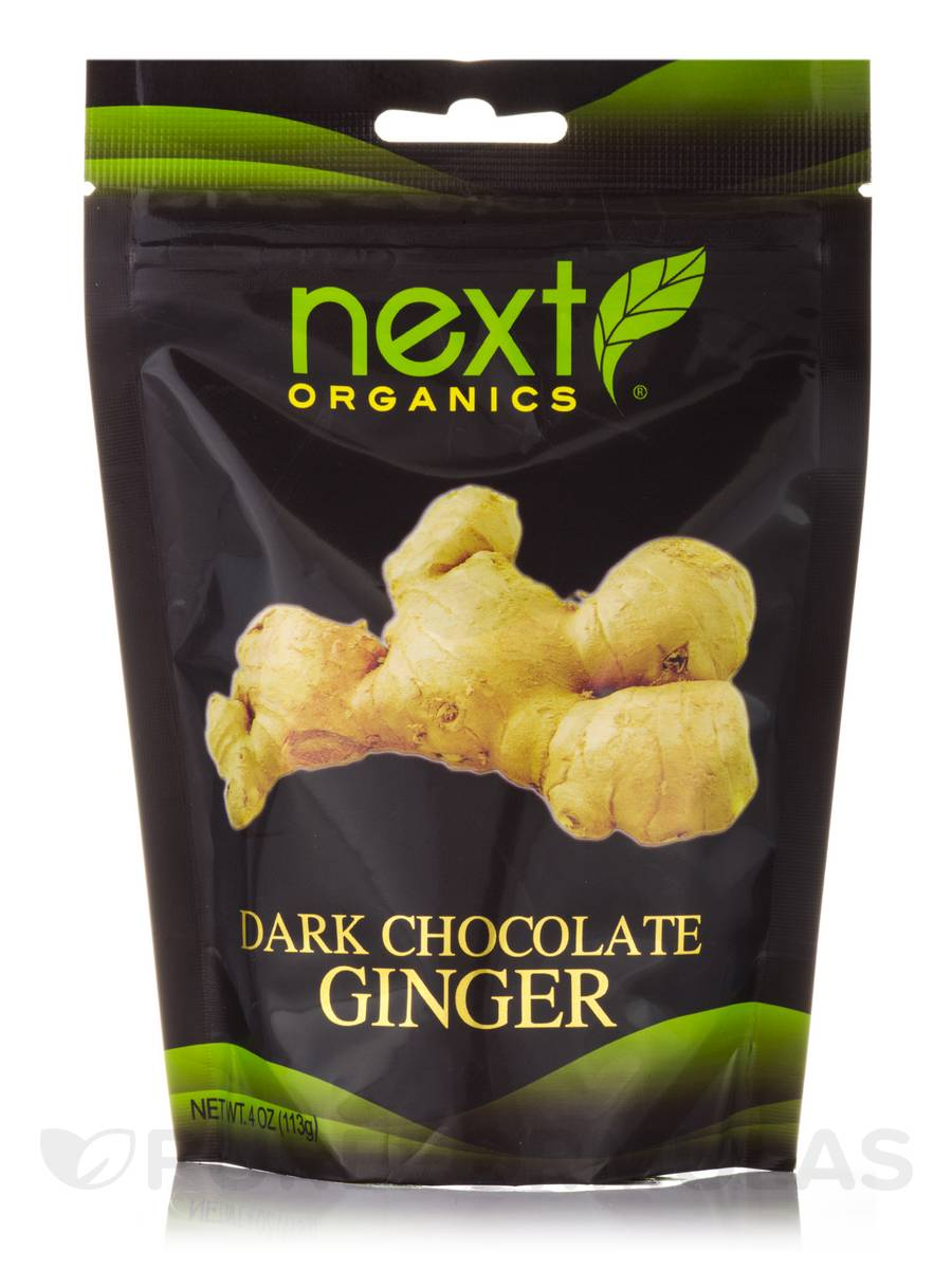 Dark Chocolate Ginger - 4 oz (113 Grams)