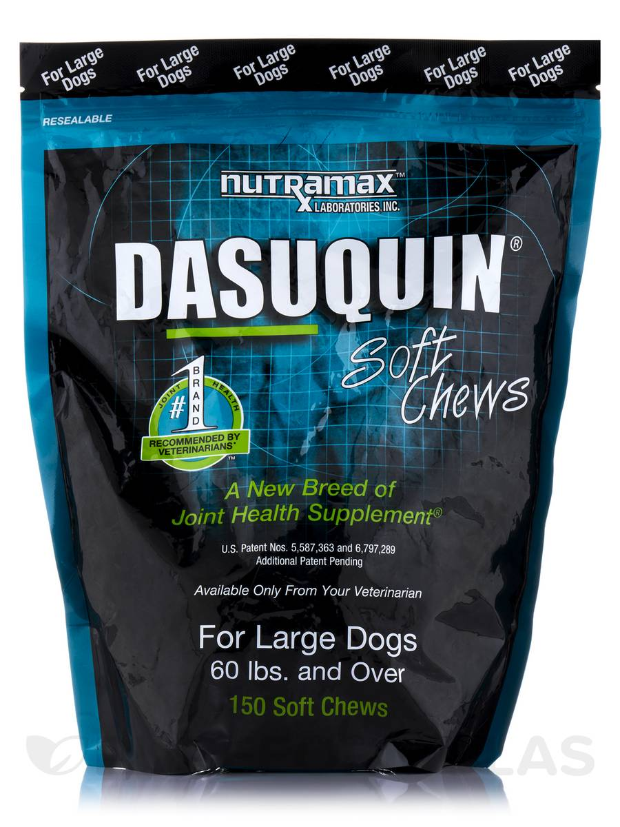 Dasuquin® For Large Dogs 60 lb and Over - 150 Soft Chews