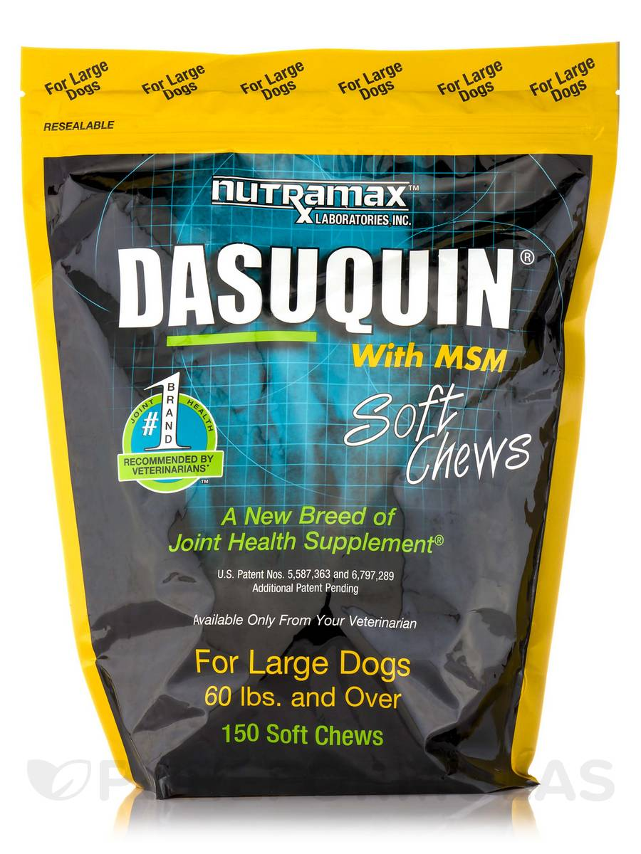 Dasuquin® with MSM for Large Dogs - 150 Soft Chews