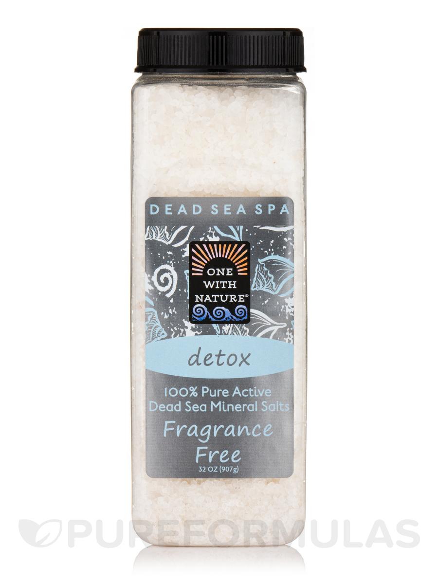 Dead Sea Mineral Bath Salts (Fragrance Free) - 32 oz (907 Grams)