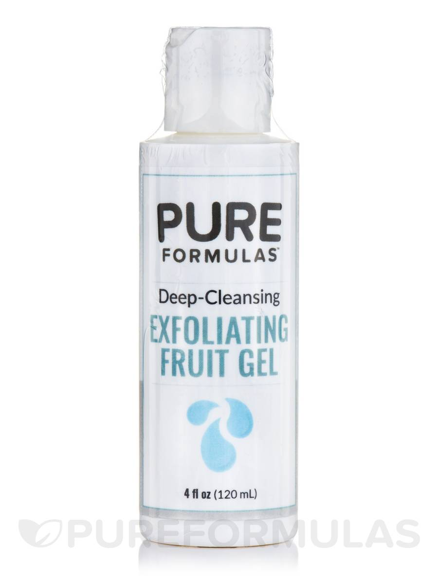 Deep-Cleansing Exfoliating Fruit Gel - 4 fl. oz (120 ml)