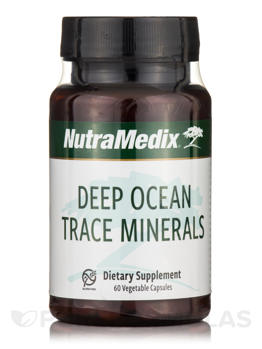 Deep Ocean Trace Minerals - 60 Vegetable Capsules