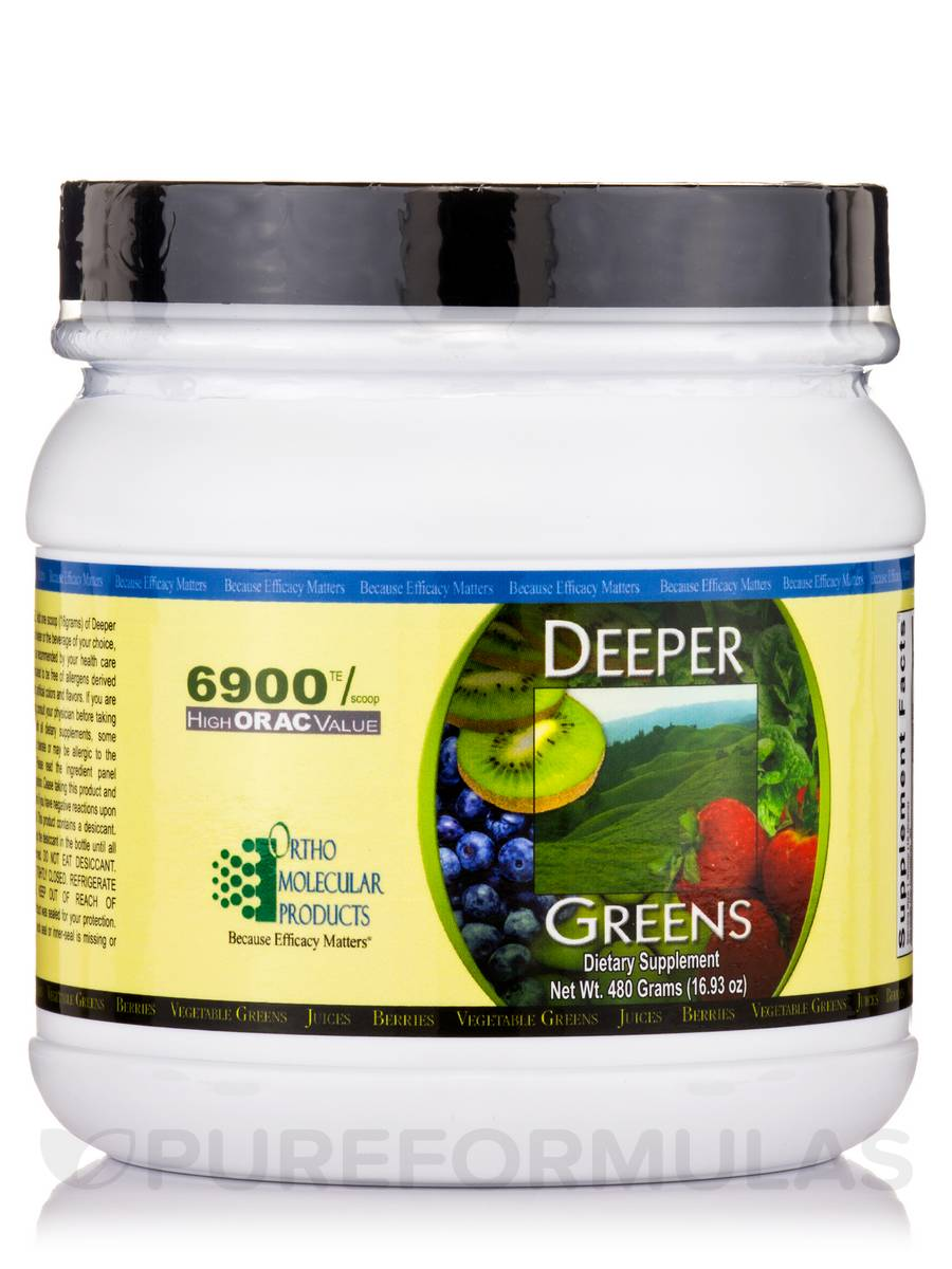 Deeper Greens Powder - 16.93 oz (480 Grams)
