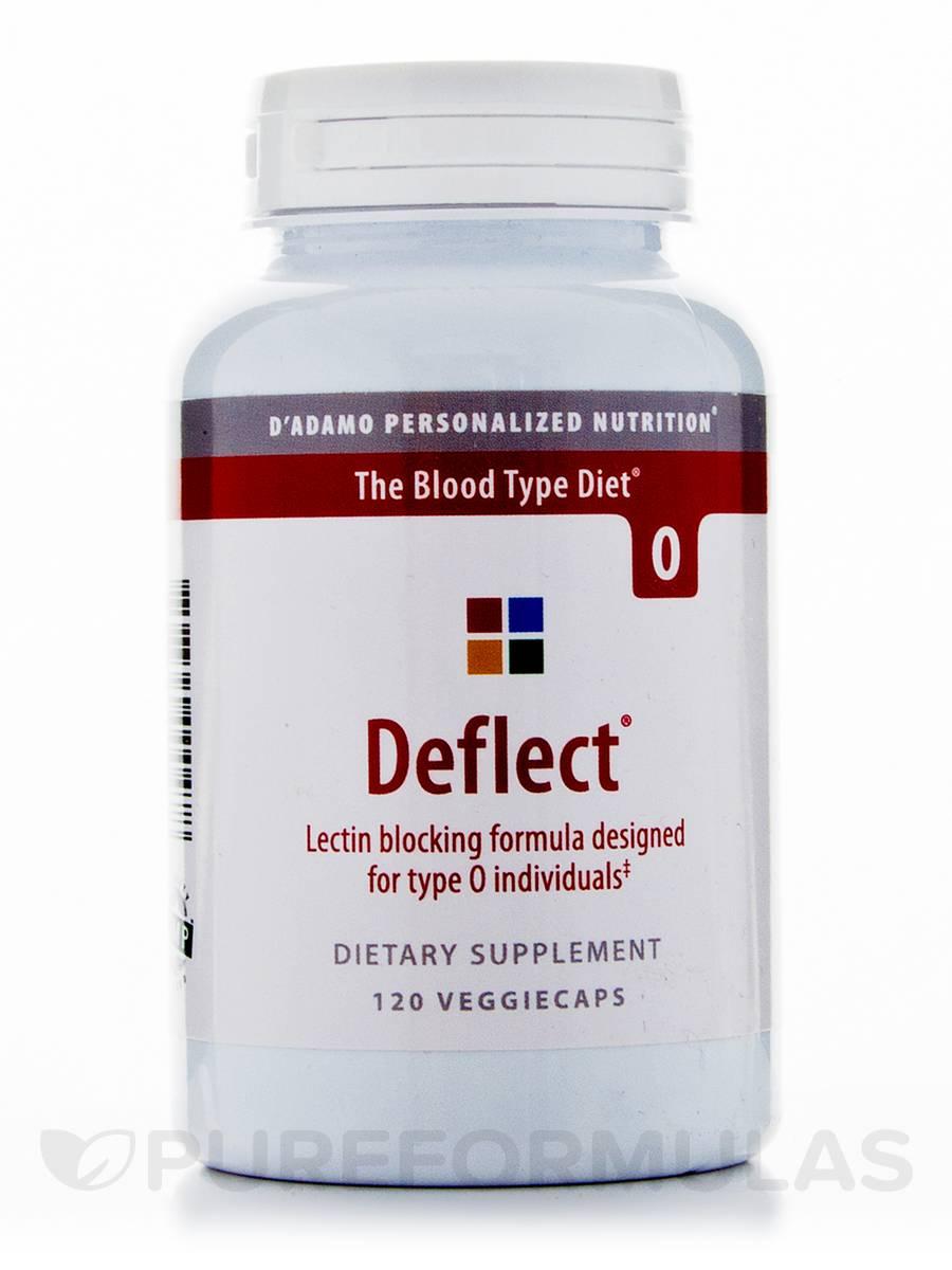 Deflect Lectin-Blocking Formula (Type O) - 120 Veggie Capsules