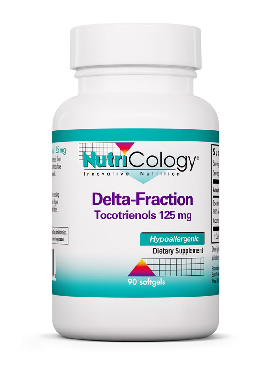 Delta-Fraction Tocotrienols 125 mg - 90 softgels