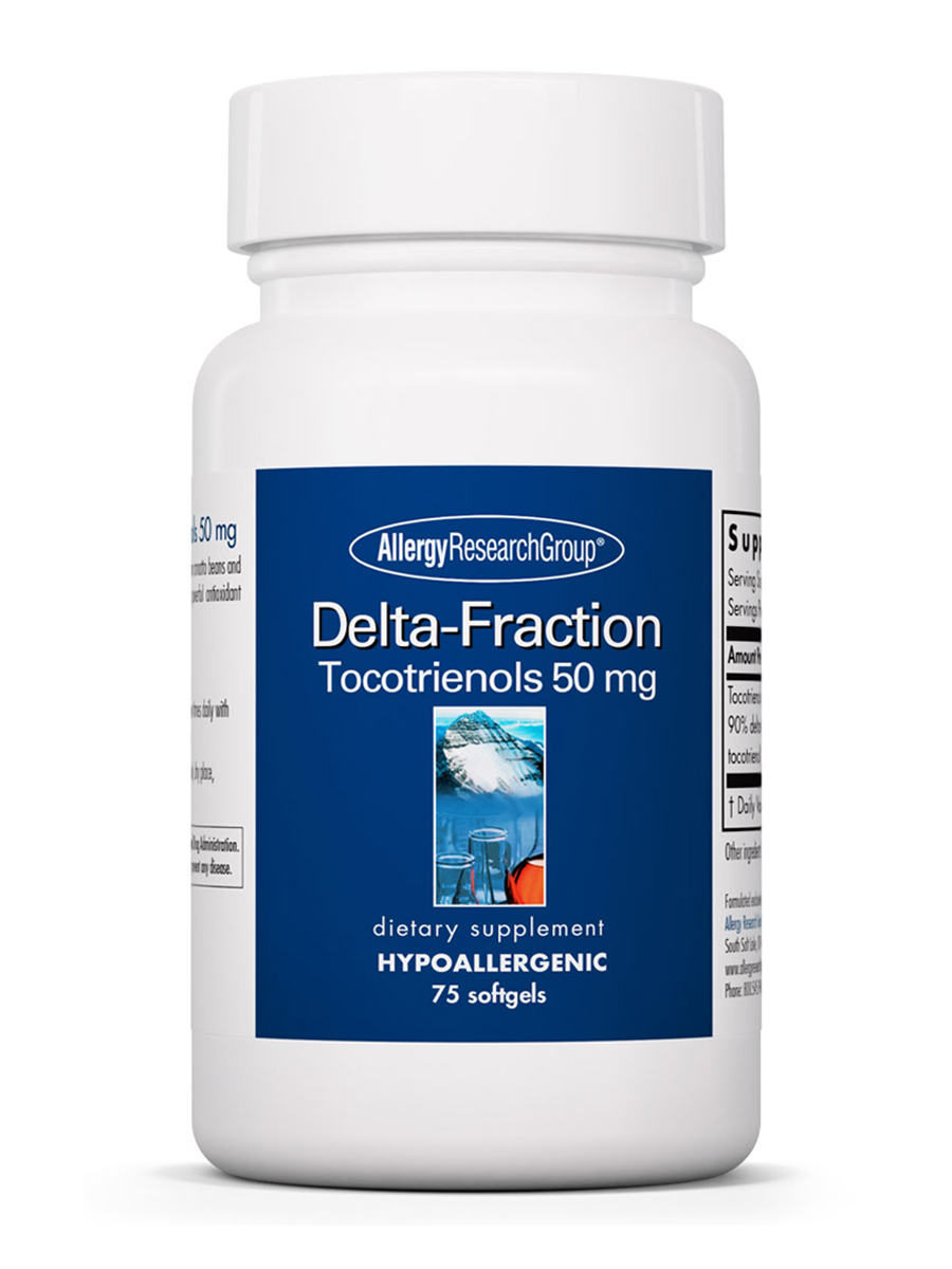 Delta-Fraction Tocotrienols 50 mg - 75 Softgels