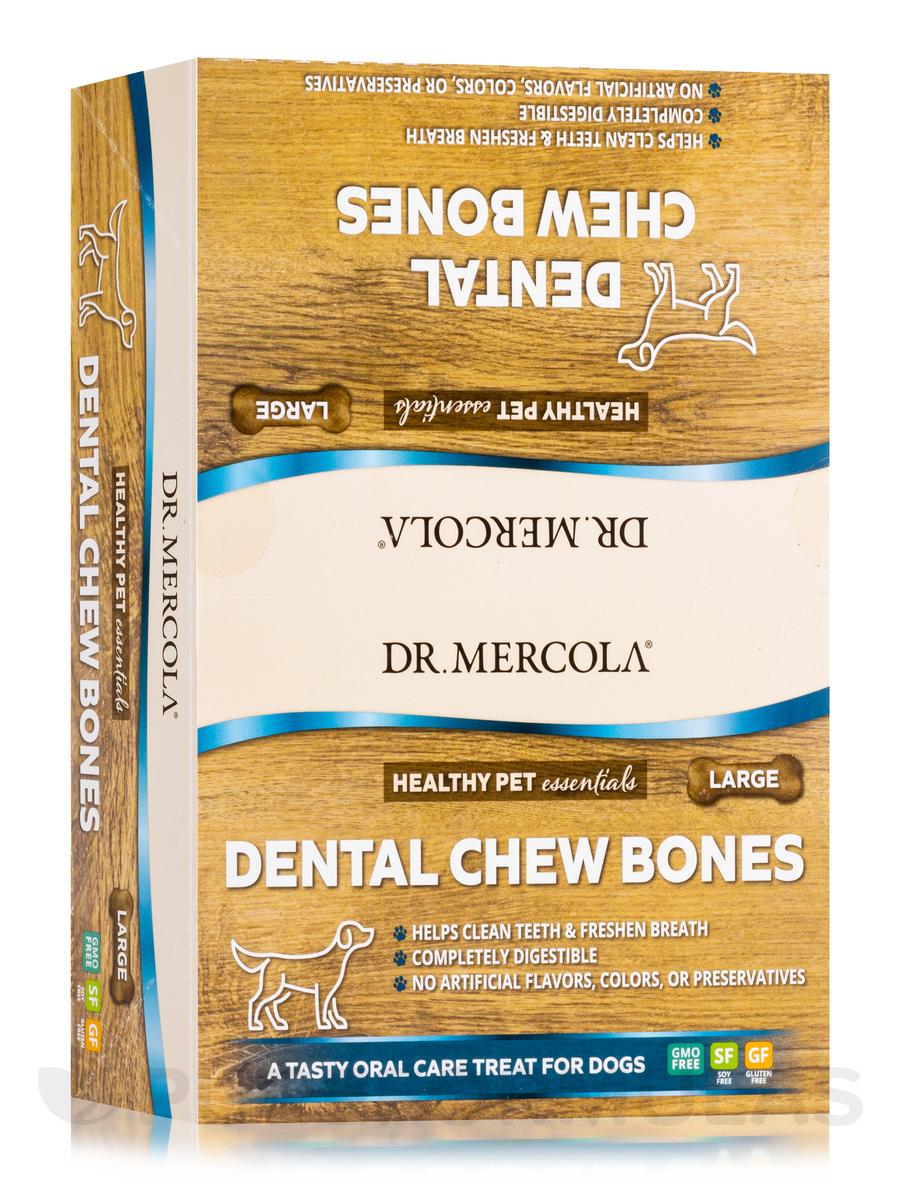 Dental Chew Bone, Large - 12 Bones
